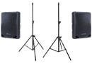 Speakers & Stands