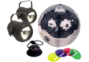 Mirror Balls Motors & Pinspots