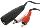 XLR to Stereo Adapters