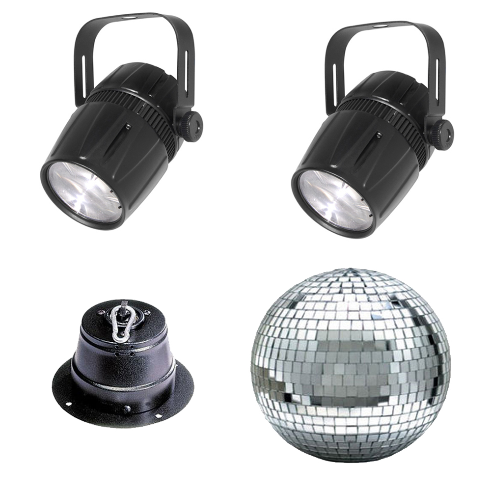 2 Beamshot Accent Narrow Led Spot Chauvet Light With 12