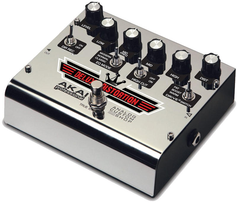 akai deluxe distortion most flexible ultimate guitar effects pedal with eq mode toggle switch. Black Bedroom Furniture Sets. Home Design Ideas