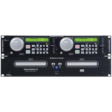 american audio dcd pro310 mkii rackmount dual cd player system with truss mounting clamp sdj16. Black Bedroom Furniture Sets. Home Design Ideas
