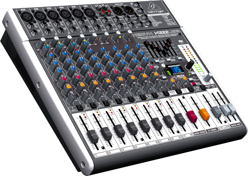 behringer x1222usb premium 16 input 2 2 bus mixer with xenyx mic preamps compressors british. Black Bedroom Furniture Sets. Home Design Ideas