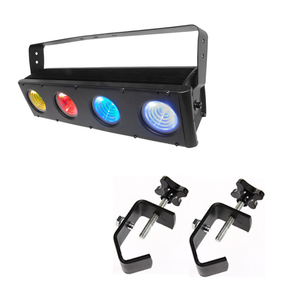 1 X 2 Led Light Fixture: Chauvet COLORado 4 IP LED Linear Wash Lighting Fixture