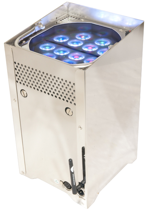 Chauvet Dj Well Tri Colored Leds Battery Operated Uplighting