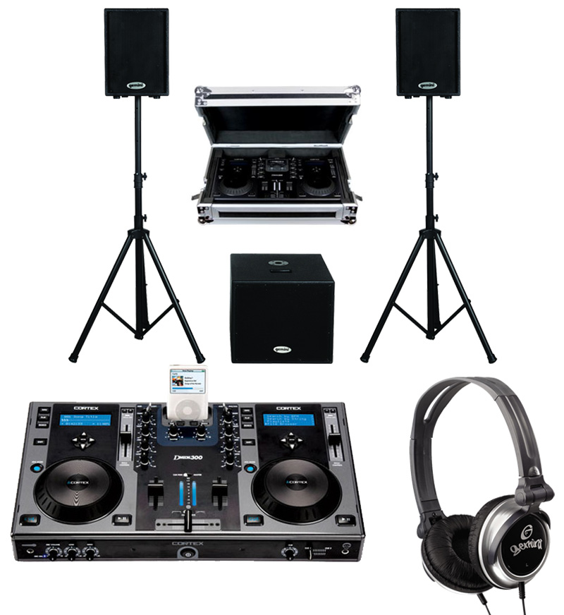 how to connect dj controller to speakers