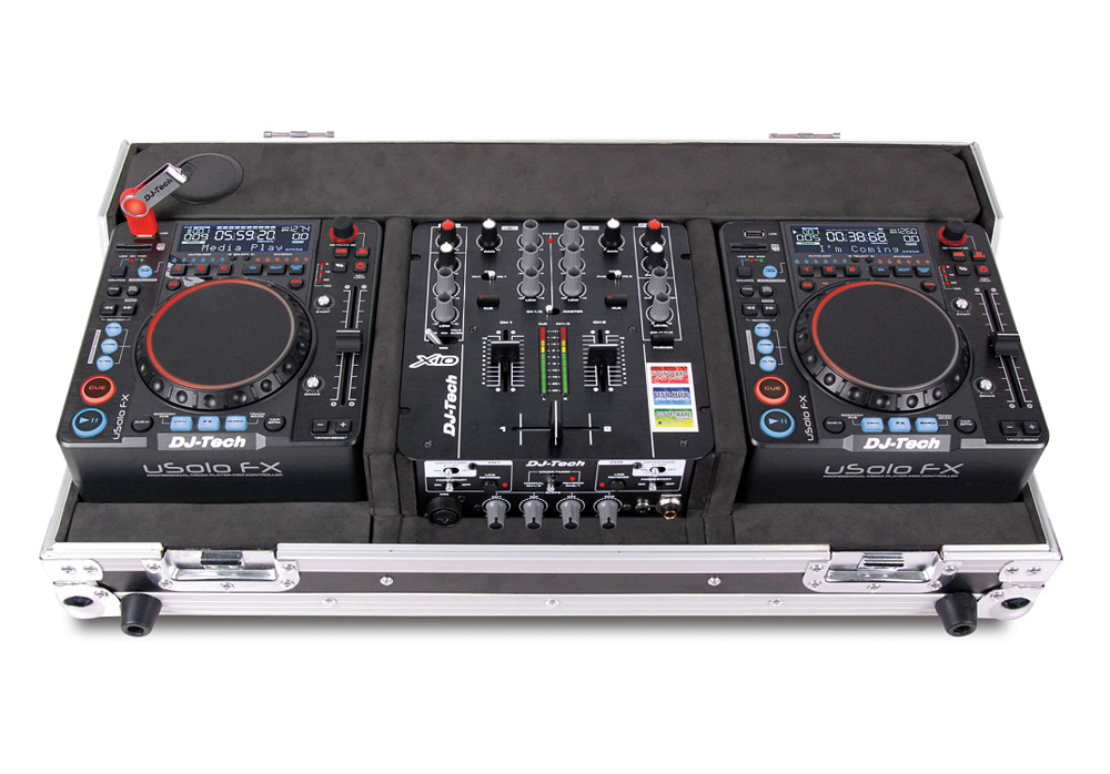 Dj Tech Hybrid X1 Time Code Controller Pack With Media Player Integrated