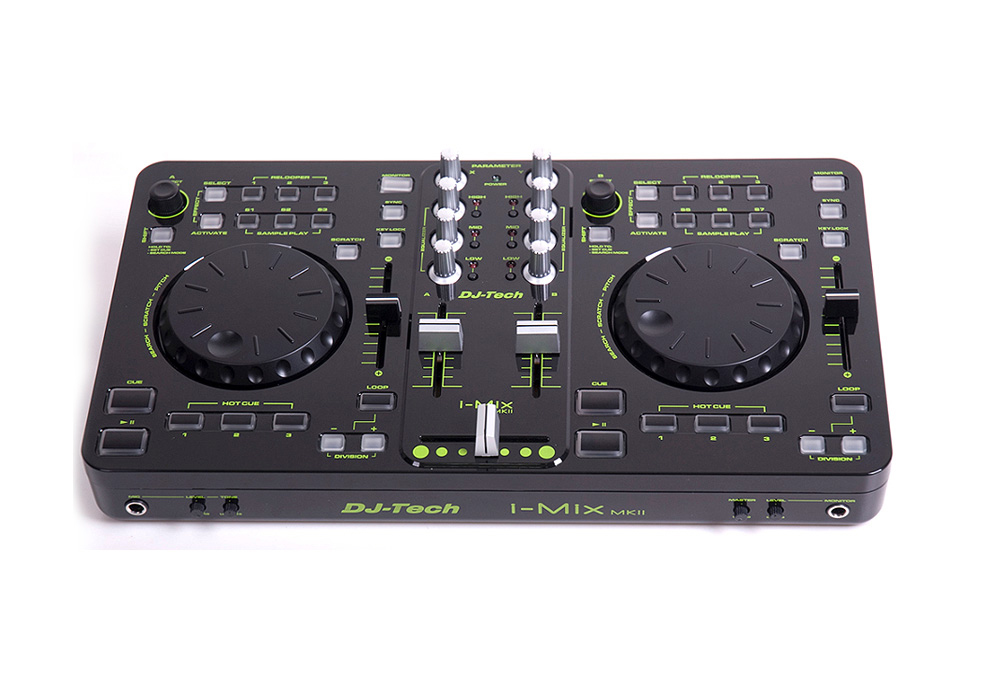 Dj tech i mix mkii dj control surface controller with for 1234 get on the dance floor dj mix