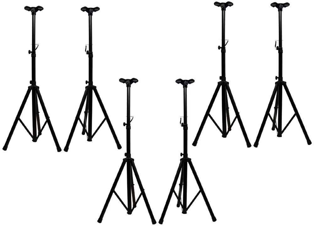 dj or band portable pro audio tripod pa speaker stands