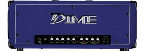 Dime D100 PRP 120 Watt 4-Band EQ Purple Guitar Amp Head w/ Dual