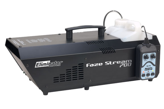 Eliminator Lighting FAZESTREAM 700 2 L Fog Juice Tank 650 W Heater Haze Machine  sc 1 st  Smart DJ & Eliminator Lighting FAZESTREAM 700 2 L Fog Juice Tank 650 W Heater ...