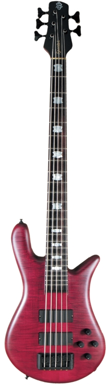 euro5lx 5 string spector europe series bass guitar black cherry stain finish euro5lxbc spr. Black Bedroom Furniture Sets. Home Design Ideas
