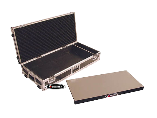 odyssey cases fzgpedal32w flight zone 32 guitar pedal board case with wheels fzgpedal32w. Black Bedroom Furniture Sets. Home Design Ideas