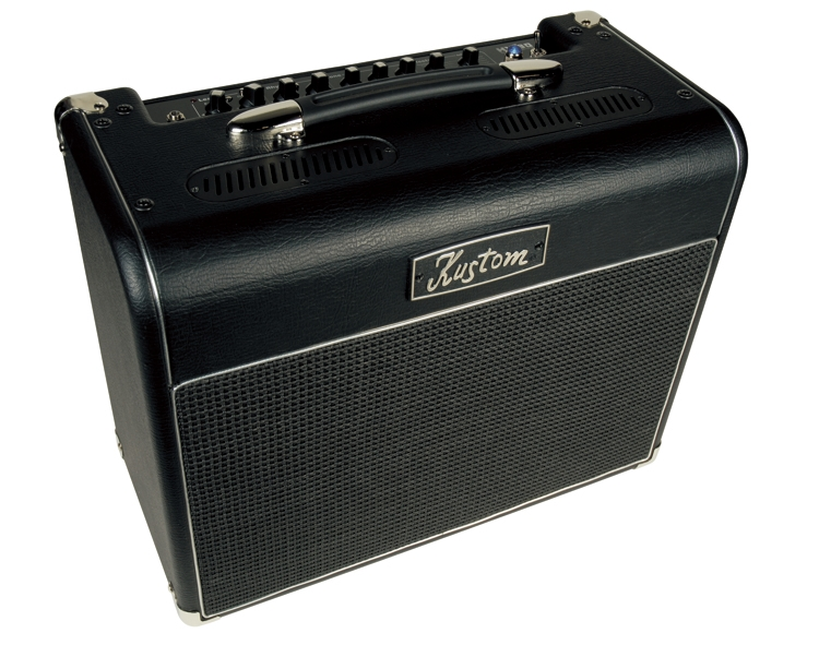 hv30t high voltage 30 watt hybrid tube guitar kustom kustom amplifier combo with 1 x 12 speaker. Black Bedroom Furniture Sets. Home Design Ideas
