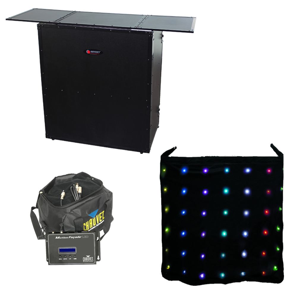 Animated Skirt motion facade led animated chauvet color skirt odyssey