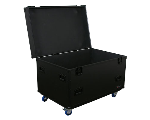 odyssey fzutwbl black label utility trunk w casters caster plates on lid fzutwbl. Black Bedroom Furniture Sets. Home Design Ideas