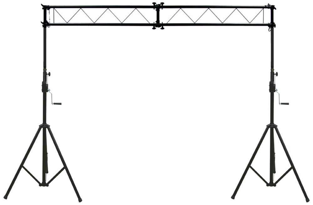 Pro audio dj light lighting fixture truss 10 foot hand for Cheap truss systems