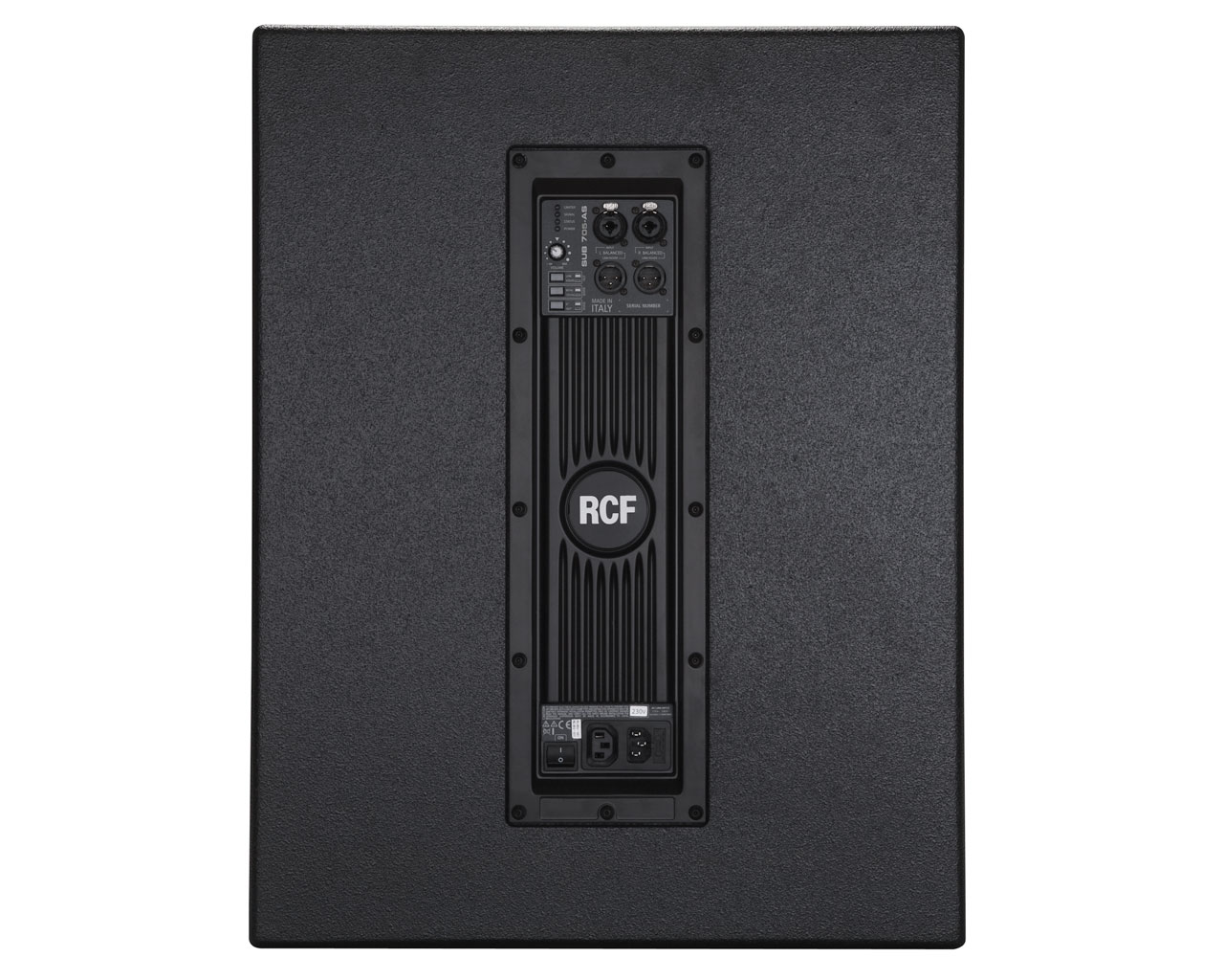 rcf sub702as compact 12 inch 700w digital amplifier subwoofer with soft limiter rcf13 sub702as. Black Bedroom Furniture Sets. Home Design Ideas