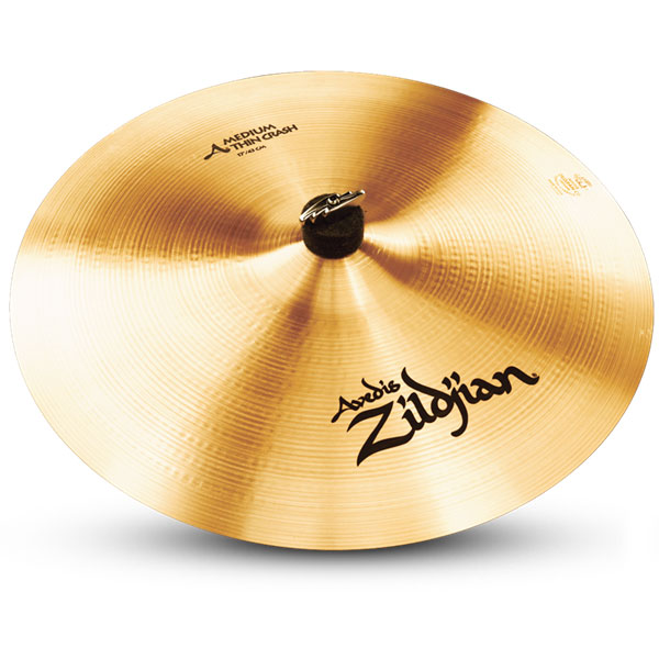 zildjian a0232 a series medium thin crash type drumset 18 cast bronze cymbal with long sustain. Black Bedroom Furniture Sets. Home Design Ideas