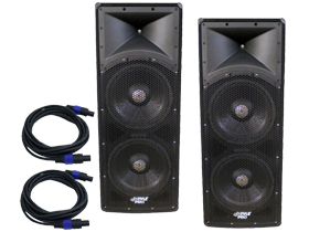 15-inch PA Speaker Pairs here at SmartDj.com