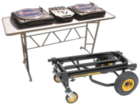 DJ Stands Tables & Carts