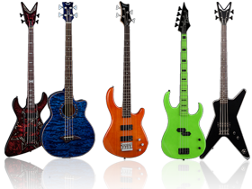 Dean Bass Guitars available here at SmartDJ.com for Value and Quality like nowhere else.
