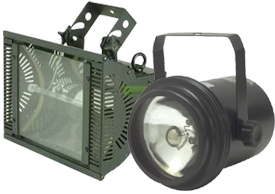 Eliminator Lighting Effects Spot Lights and Strobe