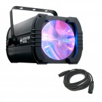 American DJ MONSTER BEAM Hi-Powered Multi Color 25x1W RGBWA LED Fixture with DMX Cable