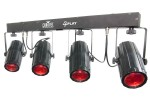 Chauvet DJ 4Play Portable RGBW LED Light Bar Fixture with Sound-Activated Programs