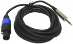 "DJ Pro Audio Universal PA Speaker 15 Foot Speakon male to 1/4"" Jack Cable"
