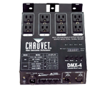 Chauvet DJ DMX-4 4-Channel DMX Dimmer Lighting Switch Pack
