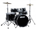 Ddrum D1 MB High Quality Midnight Black Color Complete Ready-to-Play Drum Set