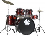 Ddrum D2 BR Blood Red Color Complete Drum Set for Beginners with Basswood Shells