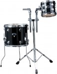Ddrum D2 MB AD1 2-Pc Add-on Pack Midnight Black Color For D2 MB Complete Drumset