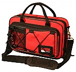 Gator Cases GL-CLAR-RED-A Rigid EPS Foam Lightweight Case for Clarinet Red Exterior