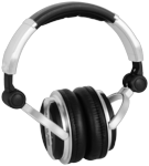 American Audio HP 700 Professional DJ High Powered Monitor Headphones