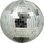 "American DJ M-800 Mirror Disco 8"" Diameter Glass Ball"