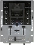 Numark iM1 Compact Tabletop Two Channel DJ Mixer with Built-in iPod Dock
