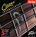Peavey Cirrus 5XL Nickel-Wound-Extra Long Bass Guitar Strings on Selected Gauges