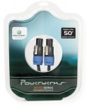 Powerwerks PW50S 50 Feet 12 Gauge Speaker Cable with Internal Hard-Wired Connection