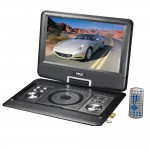 Pyle Audio PDH14 14 Inch Portable Widescreen Monitor w/ Built-in DVD USB & SD Card Reader