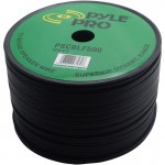 Pyle Pro Audio PSCBLF500 500Ft 12 AWG Spool Speaker cable With Rubber Jacket