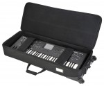 SKB 1SKB-SC61KW 61 Note Keyboard Soft Transport Case with Wheels (1SKBSC61KW)
