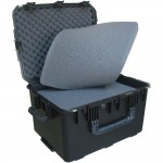 "SKB 3I-2317-14B-C 14"" Military-Standard Watertight Case with Cubed Foam - Pull Handle & Wheels (3I231714BC)"