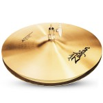 """Zildjian A0124 A Series Mastersound 14"""" Hi Hats Top Drumset Cymbal with Small Bell Size"""