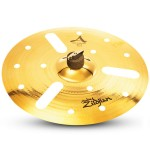 "Zildjian A20814 A Custom EFX 14"" Cast Bronze Brilliant Drumset Cymbal with Mid to High Pitch"