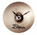 Zildjian M2999 13-Inch Standard Bronze Cymbal Clock Keeps Great Time & Quartz Accuracy