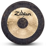 """Zildjian P0501 34"""" Predrilled and Corded Traditional Finish Gong Crafted in China"""