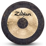 "Zildjian P0502 40"" Predrilled and Corded Traditional Finish Gong Crafted in China"