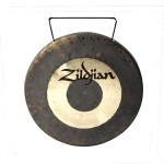 Zildjian P0512 12-Inch Partially Lathed Predrilled & Corded Small Version Tradtional Chinese Made Gong
